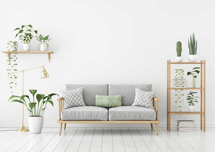 Meble skandynawskie powinny mieć biały kolor lub odcień naturalnego drewna. Są trwałe i bardzo popularne, a kilka dodatków sprawi, że styl skandynawski będzie płeny.