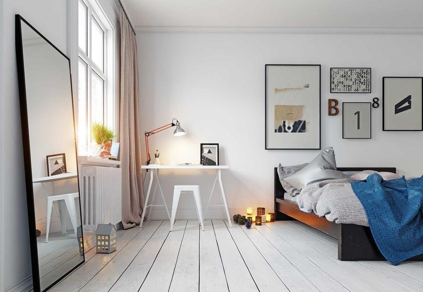Białe meble do pokoju młodzieżowego to sposób na jasną, ciekawą i świeżą aranżację, która sprawdzi się w wielu przypadkach.