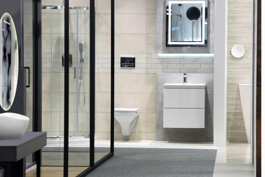 Nowoczesne łazienki wspaniale się prezentują. Najnowsze aranżacje wykorzystują kontrastowe kolory i minimalistyczne formy.