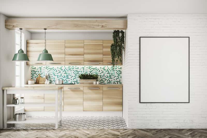 Mozaika z drobnych płytek w kuchni, a także, jakie płytki do kuchni wybrać krok po kroku, czyli glazura i terakota idealna do kuchni