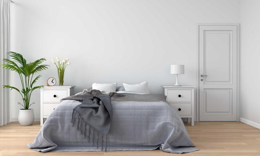 Kolory do sypialni powinny być raczej stonowane i mniej rzucające się w oczy. Sypialnia powinna być miejscem odpoczynku