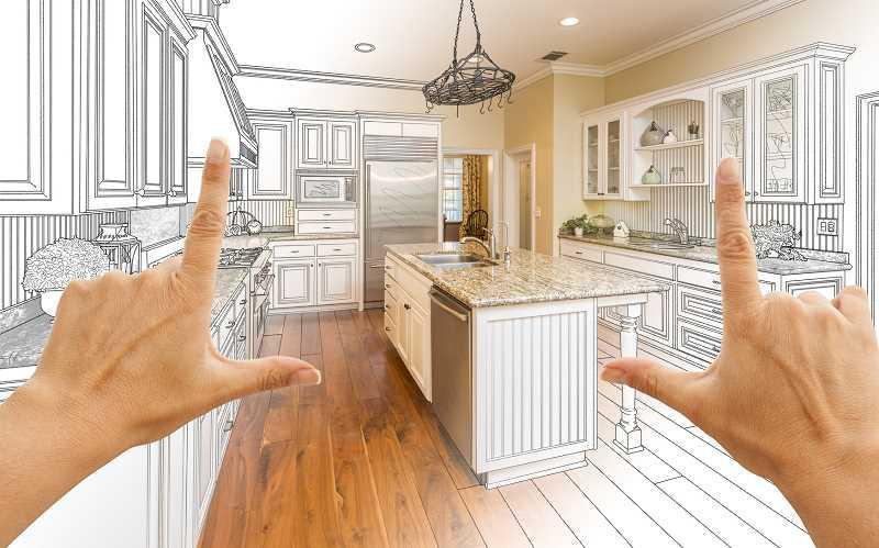 Koszt remontu kuchni może być bardzo wysoki. Cena remontu kuchni to cena zakładania płytek, malowania i kupna mebli kuchennych oraz sprzętów AGD.