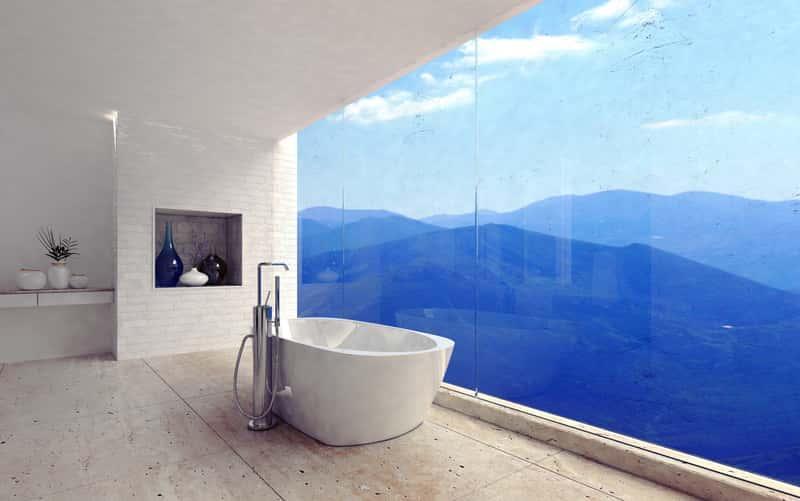 Duże okno panoramiczne w domku jednorodzinnym, a także najlepsi producenci, ceny, rodzaje, wymiary okien, zastosowanie