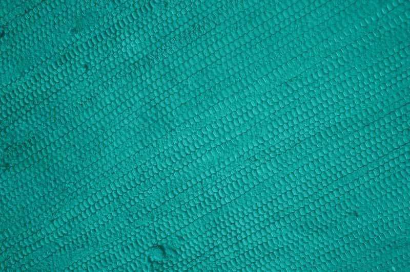 Prosty turkusowy dywan, a także najpiękniejsze wzory i najciekawsze rozwiązania na dywan turkusowy krok po kroku