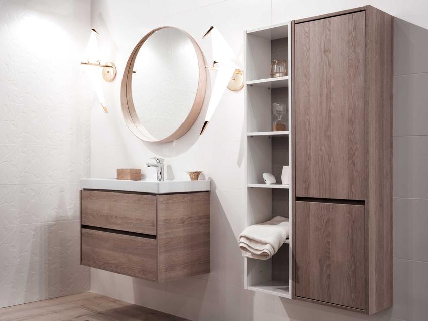Meble łazienkowe powinny być bardzo dobrej jakości, by nie zniszczyły się pod wpływem wilgoci, dlatego warto wybrać produkty od najlepszych producentów