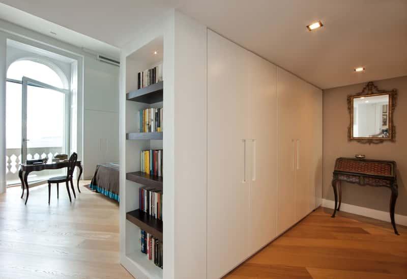 Zabudowana szafa do przedpokoju, a także najlepsze szafy do przedpokoju i na korytarz oraz rodzaje i ceny szaf
