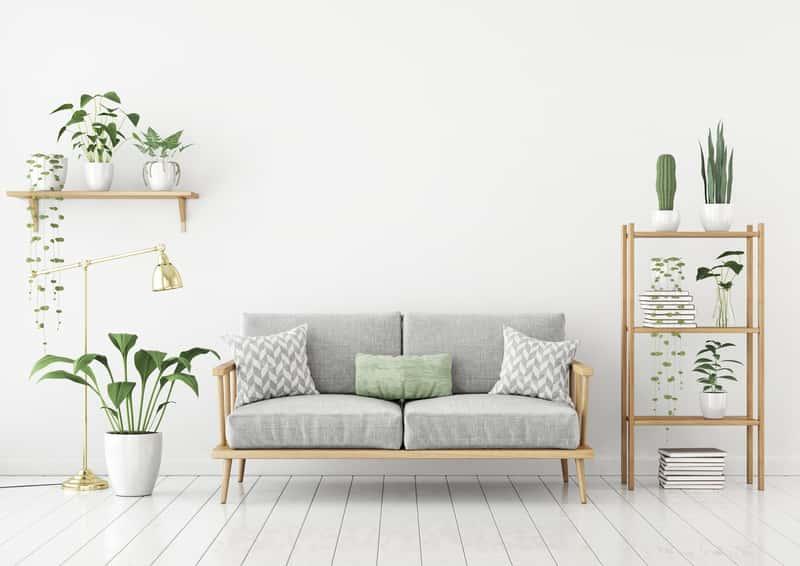 Białe panele podłogowe w salonie i ich rodzaje, zastosowanie, pomysły, aranżacje oraz ceny i oferty różnych producentów