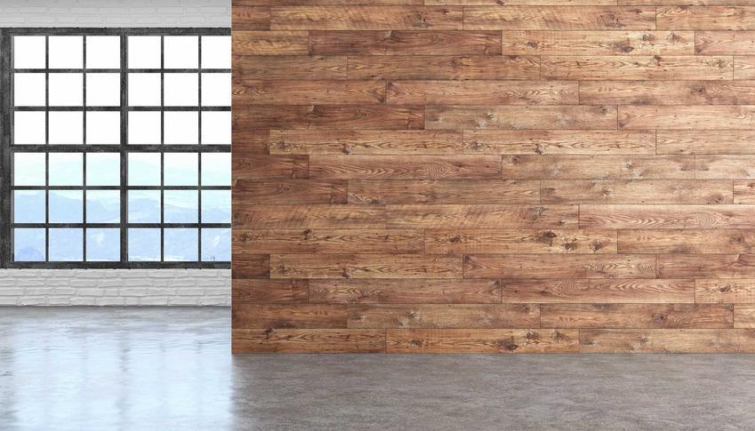Panele podłogowe na ścianę? Sprawdzają się lepiej, niż może się wydawać i nadają mieszkaniu niezwykły charakter!