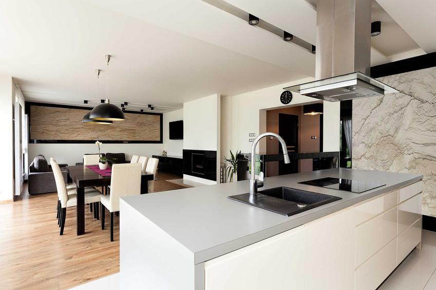 Salon z aneksem kuchennym może być bardzo szykowny. Eleganckie projekty są najbardziej popularne, inspiracje w Internecie to skarbnica pomysłów.