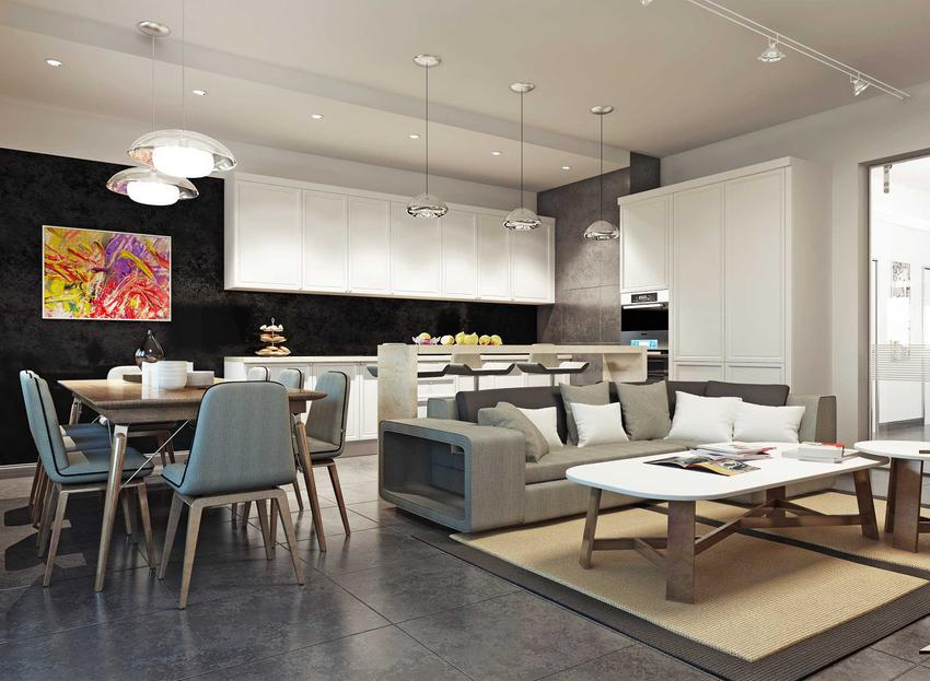 Dobór odpowiedniego oświetlenia w salonie z aneksem kuchennym powinien być dobrze przemyślany. Urządzanie aneksu nie jest trudne.