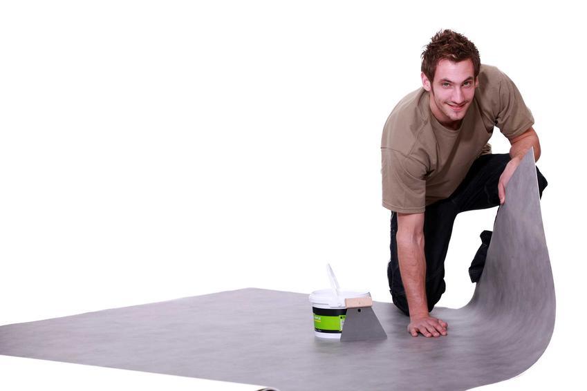 Wykładziny PCV w Komfort imitujące podłogi betonowe. Linoleum to dobra alternatywa dla płytek i paneli