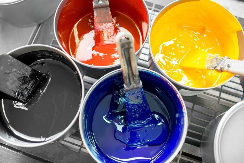 Pigmenty do farb w puszkach. Rodzaje pigmentów - organiczne i nieorganiczne, idealne do farb emulsyjnych do malowania mieszkania