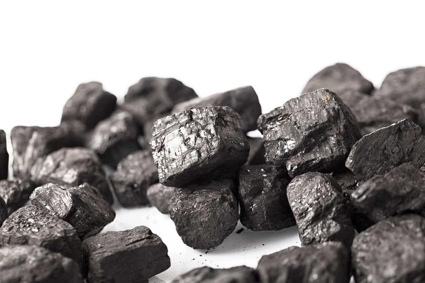 Bryłki ekogroszeku Bartex na białym tle oraz informacje, gdzie można kupić także węgiel Bartex wraz z cenami