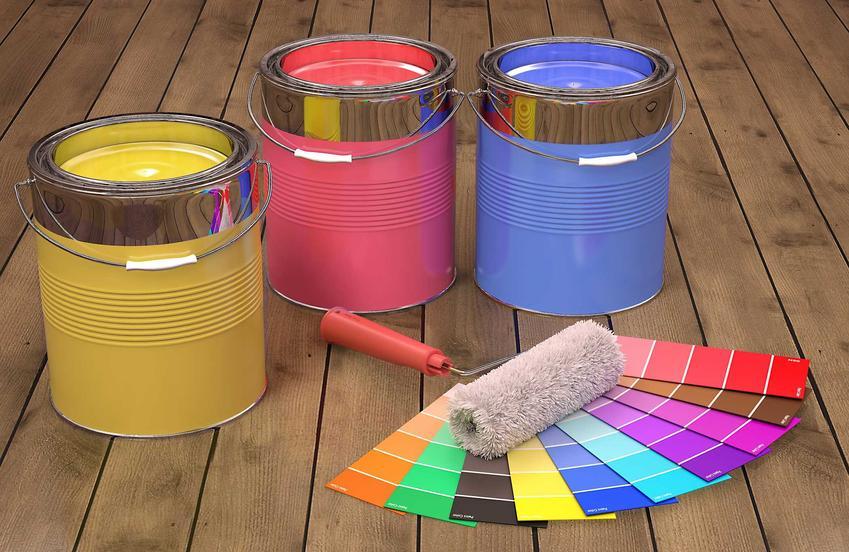 Kolorowe farby ceramiczne w puszkach. Farby ceramiczne jako najbardziej odporne na szorowanie i wilgoć