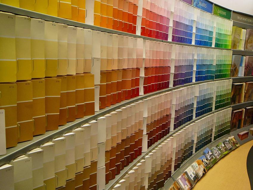 Farby Flugger i paleta kolorów na ścianie w sklepie, a także ich rodzaje, opinie i ceny najlepszych farb do malowania ścian