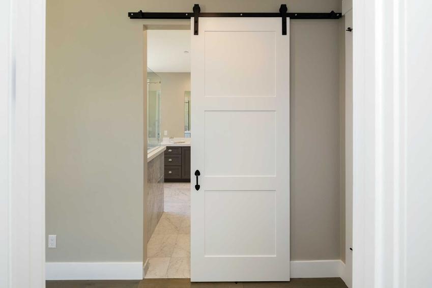 Drzwi przesuwne Porta naścienne do łazienki oraz system przesuwny Porta, a także jego rodzaje i ceny