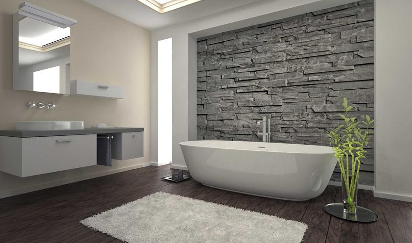 Płytki dekoracyjne na ścianę w łazience, a dokładniej kamieć dekoracyjny oraz inne polecane płytki ozdobne
