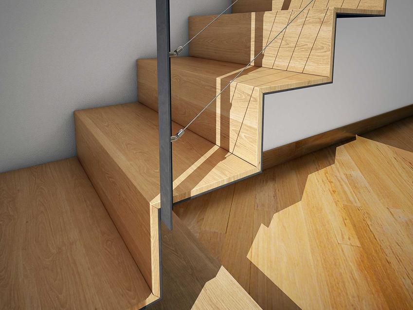 Schody bukowe tańsze niż schody dębowe jako schody drewniane wewnętrzne w domu i ich ceny, opinie, zalety