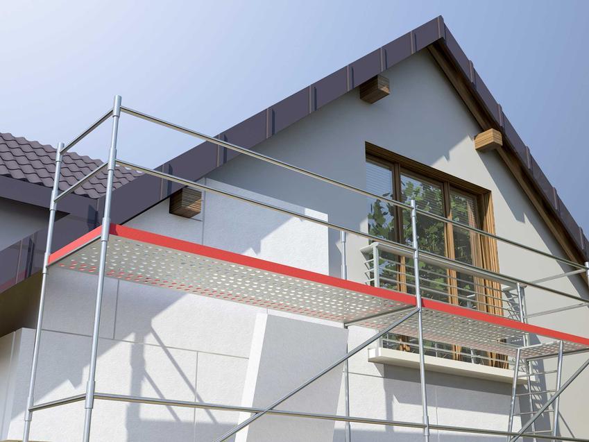 Złożone rusztowanie elewacyjne czy używane rusztowania fasadowe, a także wynajem rusztowań i ich ceny