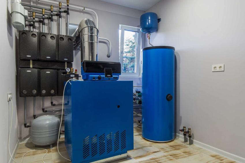 Zbiornik przeponowy, czyli zbiornik hydroforowy przeponowy lub naczynie przeponowe w instalacjach C.O., a także ich zasada działania