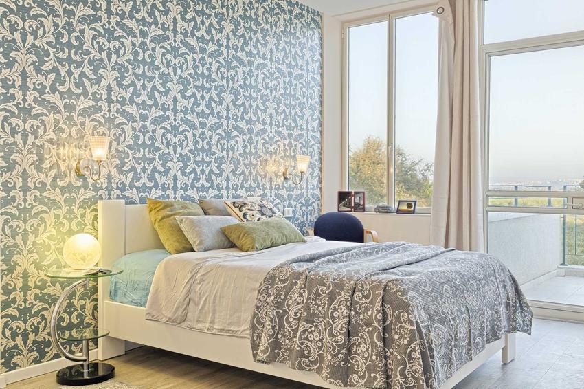 Tapeta do sypialni z oryginalnym motywem, czyli polecane nowoczesne tapety ozdobne do ciekawej, stylowej sypialni