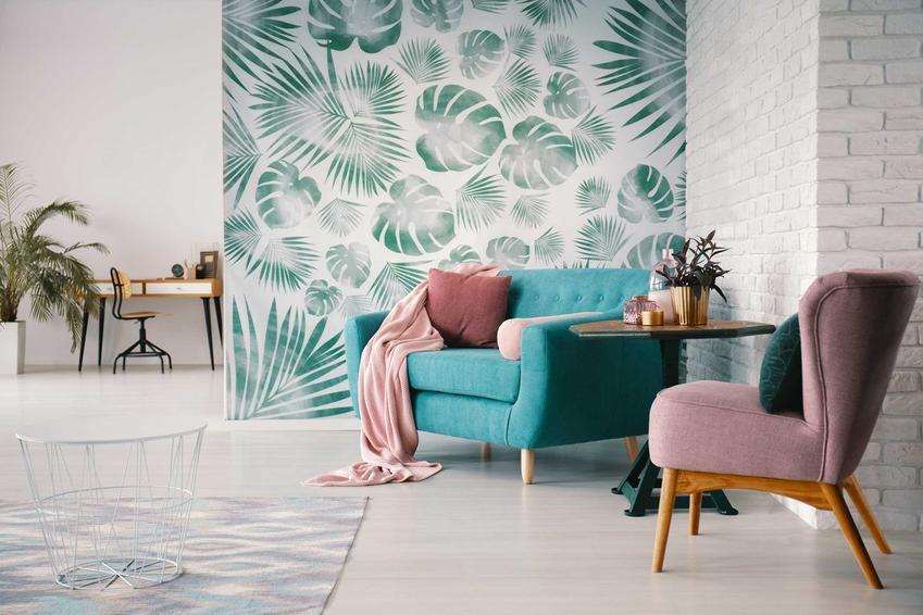 Tapety na flizelinie w salonie, czyli nowoczesne tapety ścienne fizelinowe, idealne do sypialni i salonu