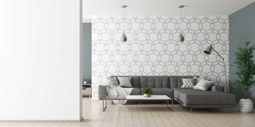 Tapety na flizelinie w salonie, czyli tapety ścienne i nowoczesne tapety na flizelinie do salonu i sypialni