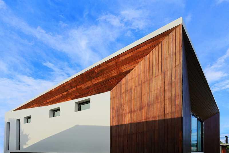 Panele elewacyjne na nowoczesnym budynku, a także cena, porady, zastosowanie krok po kroku, wygląd, wykończenie