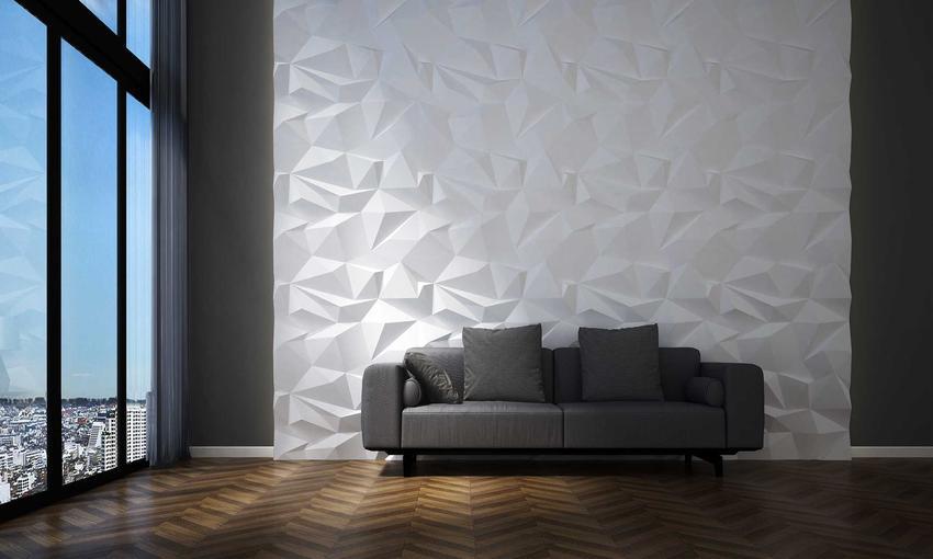Panele ścienne 3d w salonie, czyli polecane panele 3d na ścianę jako panele dekoracyjne, a takżeich ceny, producenci i rodzaje