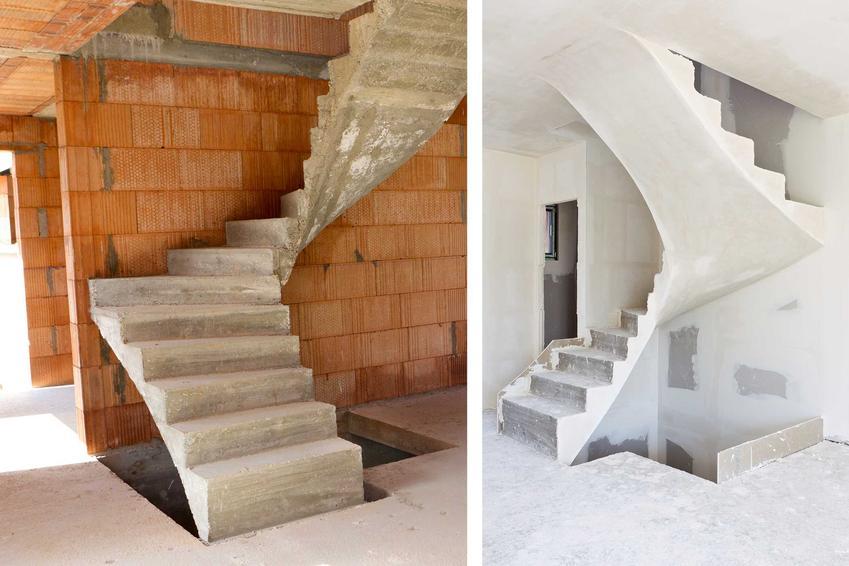 Schody żelbetowe podczas budowy domu, a także projekt schodów żelbetowych, ich konstrukcja i rodzaje krok po kroku