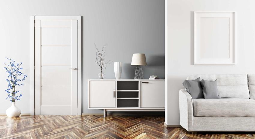 Drzwi bezprzylgowe w pięknym salonie a drzwi przylgowe jako drzwi wewnętrzne, zastosowanie, opis oraz ceny produktów