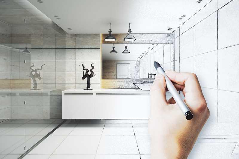Projekt małej łazienki w czasie przygotowywania, a także projekty małych łazienek oraz jak urządzić małą łazienkę lub łazienkę w bloku