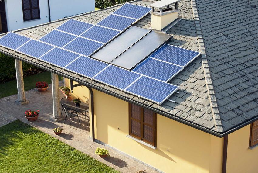 Kolektory słoneczne na dachu domu, czyli kolektory ciepła i solary wodne oray cena całych zestawów na dom jednorodzinny