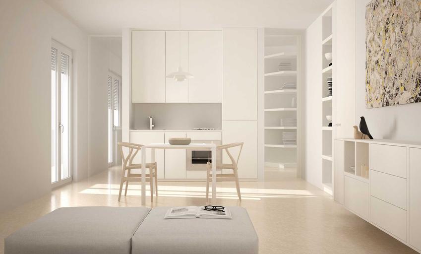 Podłoga z żywicy w salonie, czyli posadzka epoksydowa w domu lub w mieszkaniu, cena, koszt, wylewanie