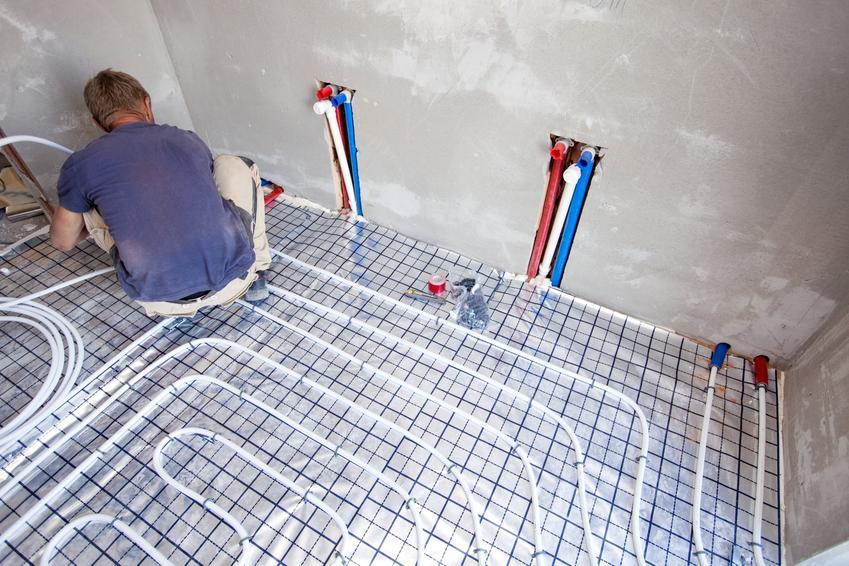 Układanie ogrzewania podłogowego oraz ogrzewanie podłogowe w bloku i w mieszkaniu
