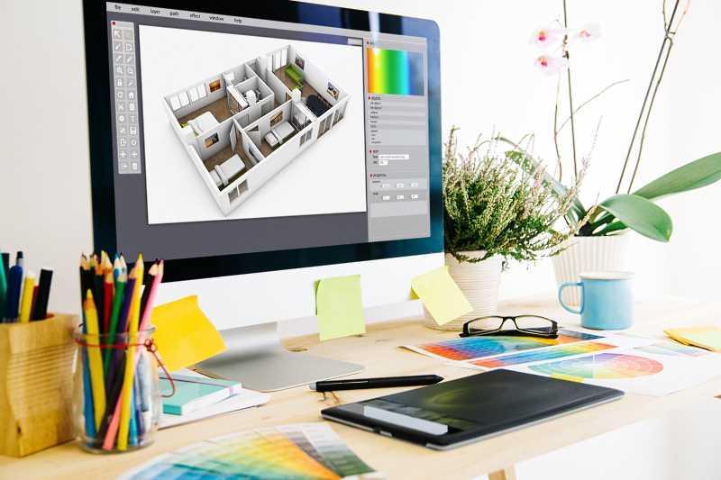 Przegląd najlepszych programów do projektowania wnętrz - sprawdź, który program sprawdzi się najlepiej