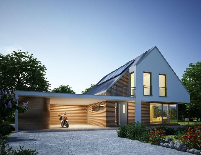 Budowa domu energooszczędnego krok po kroku, a także koszty budowy domu, rozwiązania, porady, działanie