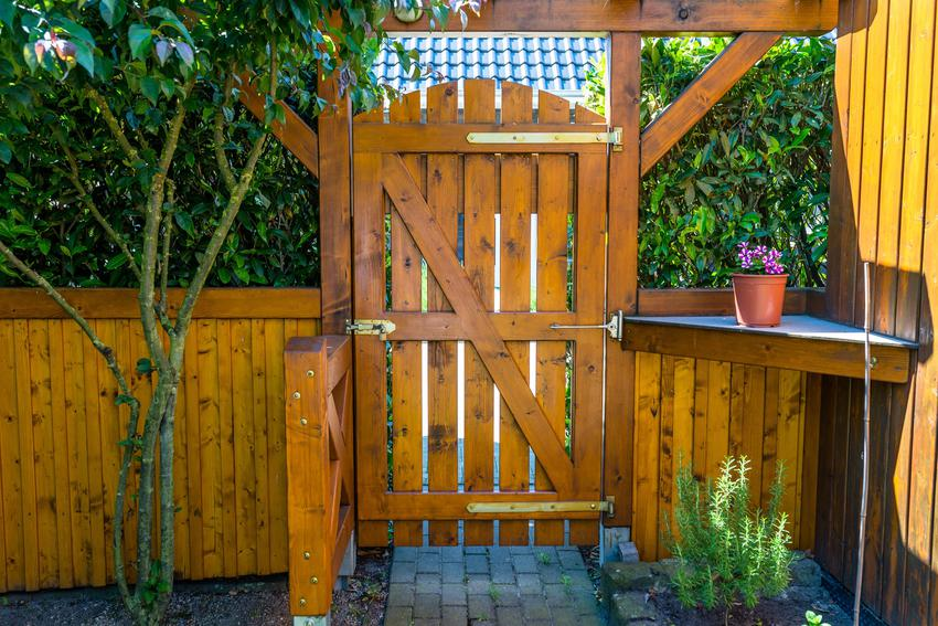 Furtka drewniana ogrodzeniowa i nowoczesnym ogrodzie oraz ceny jej zakupu
