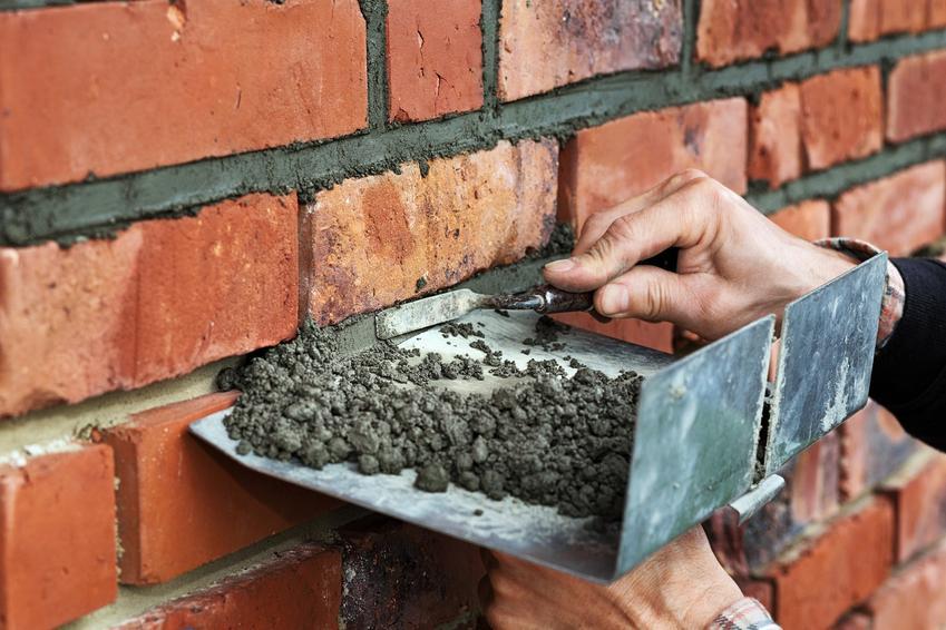 Murowanie muru z cegły, a także zaprawa do klinkieru i jej cena