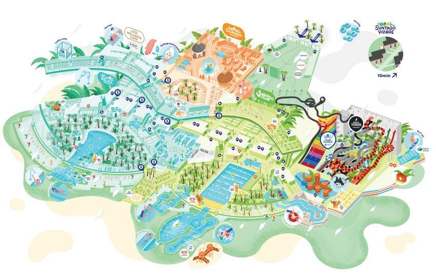 Mapa Suntago Park of Poland
