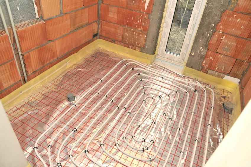 Ogrzewanie podłogowe podczas układania, a także rury do ogrzewania podłogowego