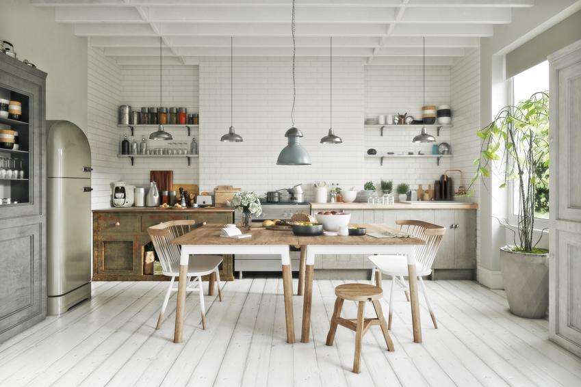 Kuchnia w stylu skandynawskim w jasnych barwach, a także ciekawe projekty kuchni i aranżacje