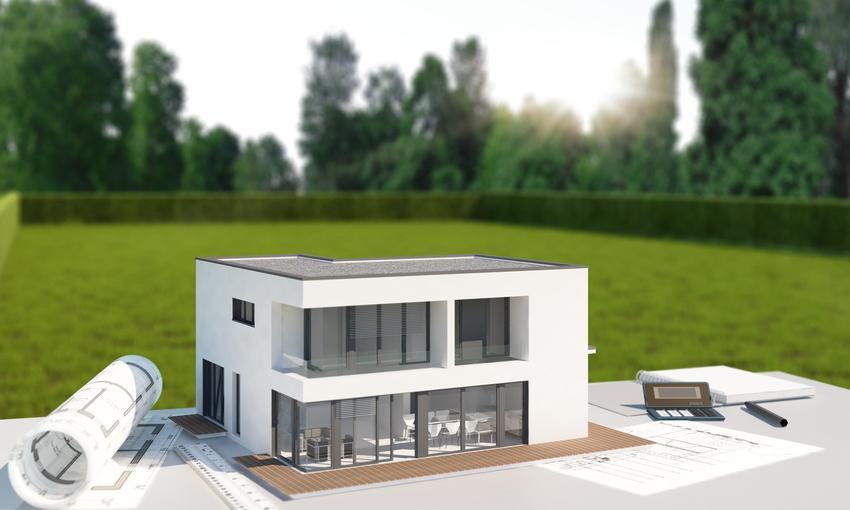 Plan i wizualizacja domu, a także nieprzekraczalna linia zabudowy a prawo budowlane