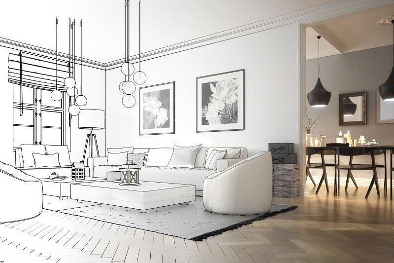 Zmiany w projekcie domu lub mieszkania należy zgłosić, chyba, że są nieistotne. Nieistotne zmiany w projekcie domu to na przykład te związane z wyposażeniem.