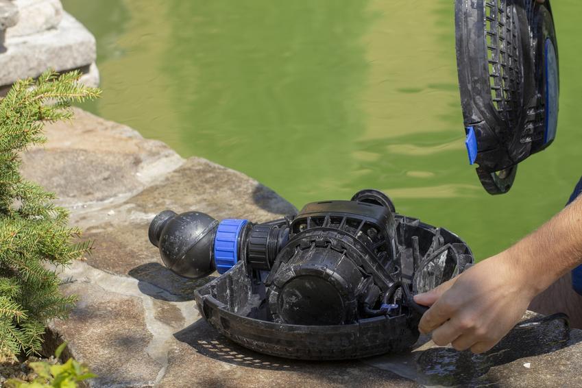 Pompa do oczka wodnego, a także jej rodzaje, czyli pompa fontannowa i pompa zanurzeniowa