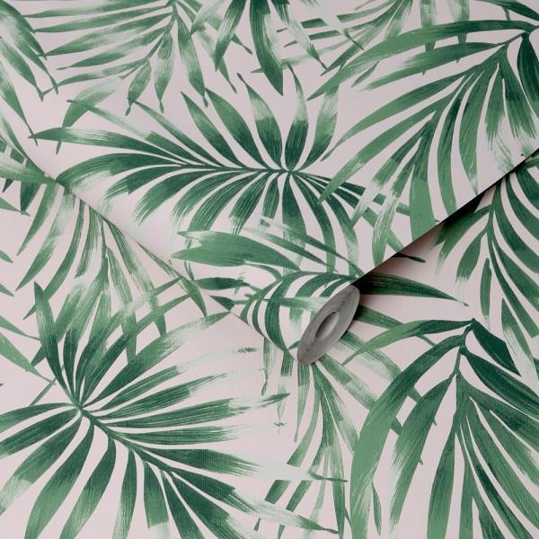 tapeta w liście palmy