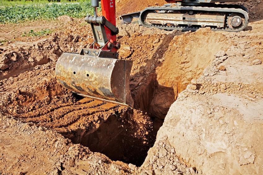 Kopanie fundamentów domu, czyli wykopy pod fundamenty, wykopy fundamentowe krok po kroku