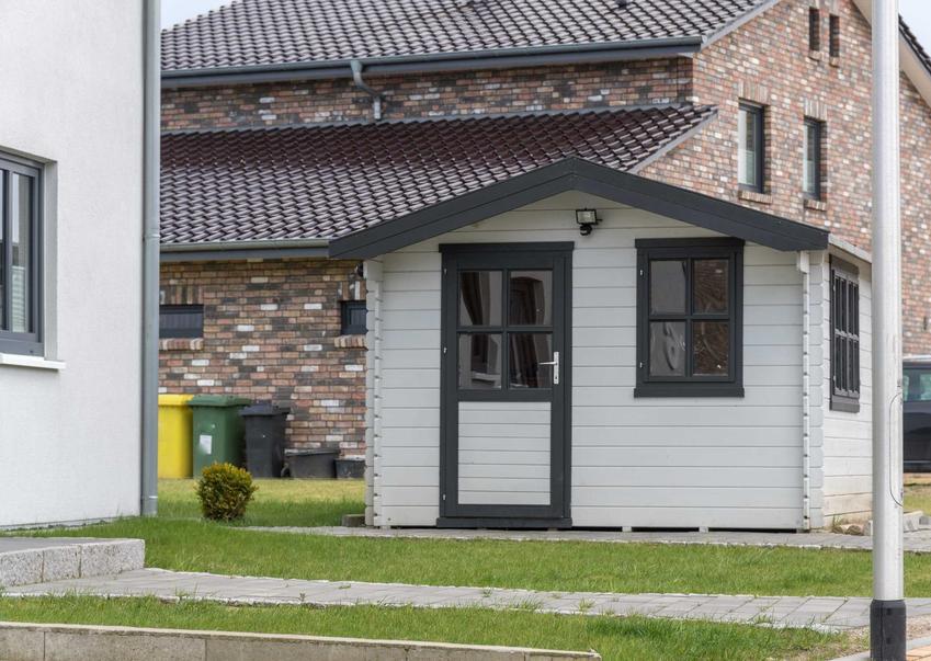 Domki holenderskie nadają się nie tylko do ośreodków wypoczynkowych, można je spotkać także wśród domów jednorodzinnych