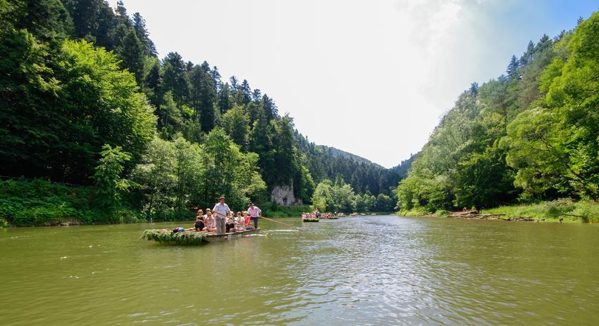 Spływ przełomem Dunajca  i inne ciekawe miejsca na weekend w Polsce