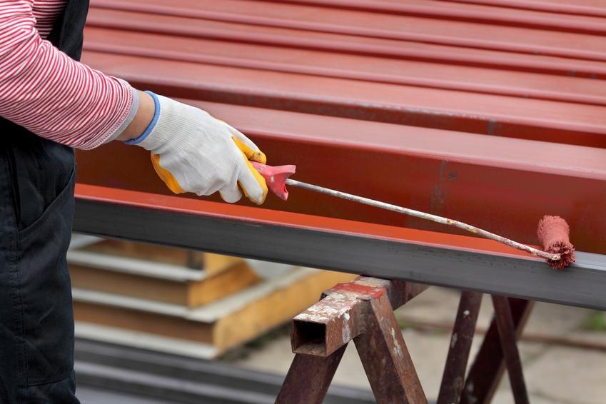 Malowanie metalu, a także podkład reaktywny, podkład reakcyjny, antykorozyjne podkłady reaktywne